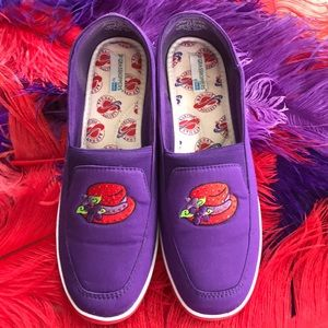 Red Hat Grasshopper by Keds Purple/Red Shoes